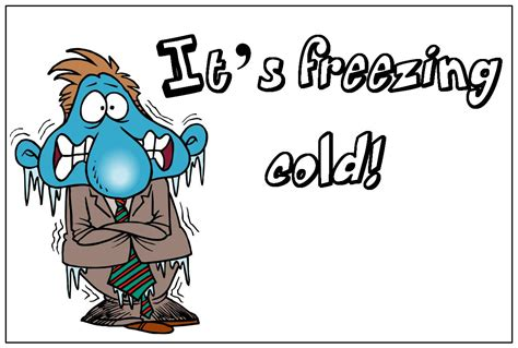 The Cold freezing cold clipart 46