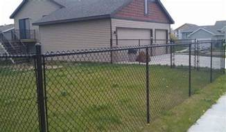 standard chain link fence height