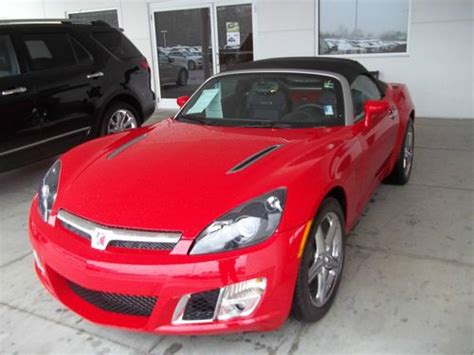 sell used 2009 saturn sky line convertible 2 door 2 0l