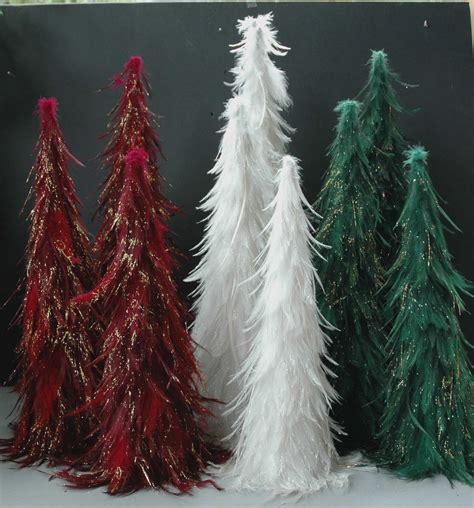 christmas feather trees 8 06