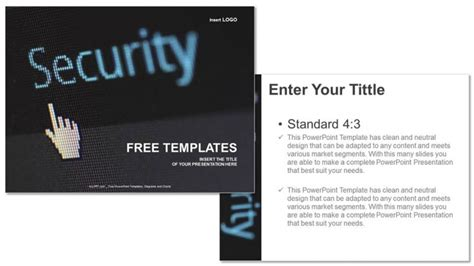 templates powerpoint security security business ppt templates