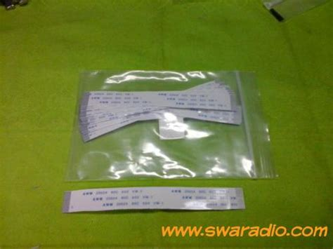 Kabel Pita 6 Pin jual kabel pita untuk ht icom v68 20 pin dan kenwood th22at swaradio