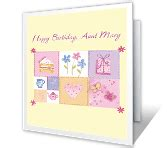 printable birthday cards for aunt free birthday cards for aunt print free at blue mountain