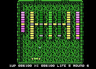 different layout features arkanoid screenshots for atari 8 bit mobygames