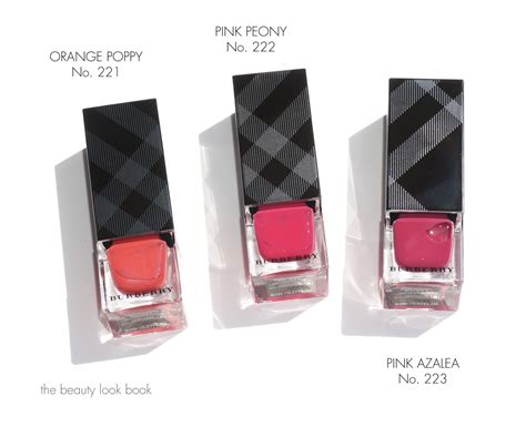 Summer Showers by Burberry Summer Showers Lip Glow Balm And Nail Polishes