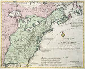 map of colonial antique map tirion colonial america
