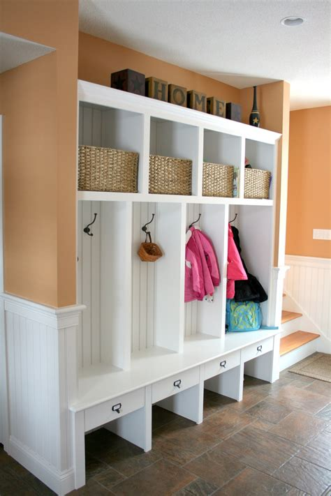 mudroom furniture ideas the powerful ideas of wooden mudroom locker modern white