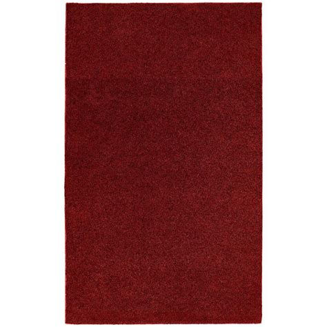 Garland Rug Washable Room Size Bathroom Carpet Burgundy 5 Rugs 6 Ft