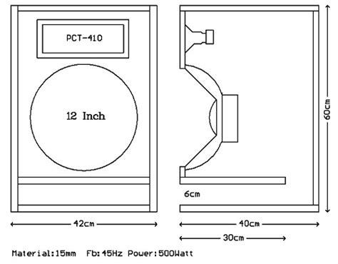 Speaker Ukuran 12 Inch ukuran dan skema box subwoofer speaker mau speaker