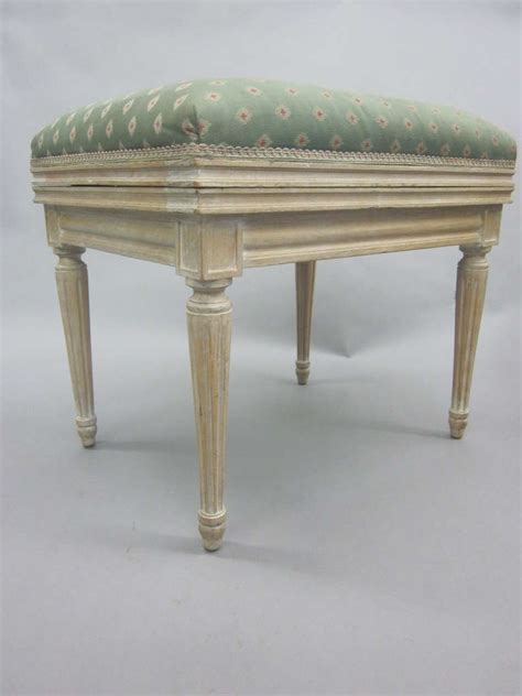 oak benches for sale pair of french louis xvi style cerused oak benches or