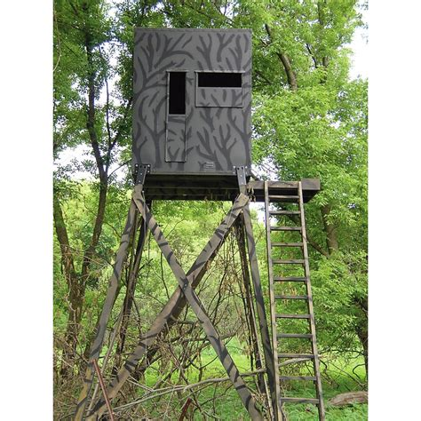 Shadow Deer Blinds shadow 174 4x4 insulated gun blind 125680 ground blinds at sportsman s guide