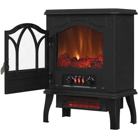 Chimney Free Electric Stove With Infrared Quartz Heater - see more 100 heaters