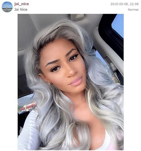 granny hair colour 2015 granny hair color is a sexy storm heading your way