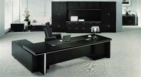 black executive desk home office furniture echanting of executive office desk modern luxury black