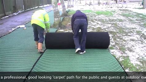 grass carpet sale  hire installation  youtube