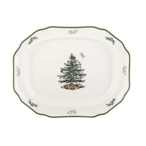 spode christmas tree crockery tableware cutlery serving