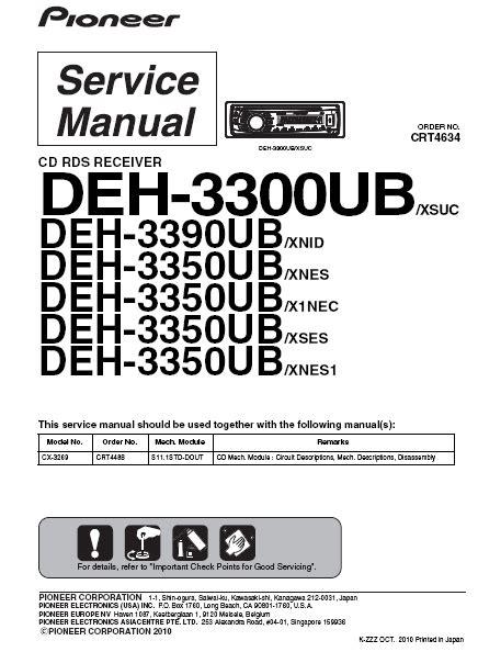 pioneer deh p3100 wiring diagram 32 wiring diagram