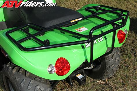 Speed Rack Accessories by 2011 Arctic Cat 350 425 Xc450i Utility Atv Test Ride Review