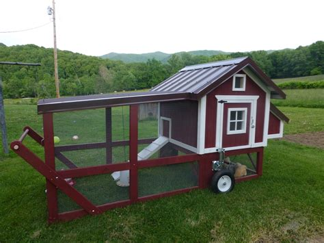 Backyard Chicken Tractor My New Chicken Tractor Backyard Chickens