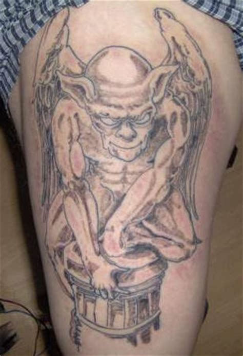 imp tattoo gargoyle imp on box tattooimages biz
