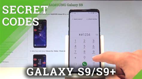 secret codes samsung galaxy s9 mode tricks