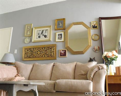 do it yourself living room ideas hometalk do it yourself gold octagon mirror rev