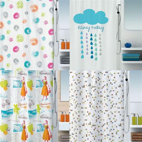 Spirella Rideau Textile by Die Stilkante Spirella Duschvorhang Textil Bunt Vers
