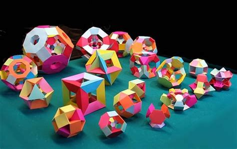 How To Make 3 Dimensional Shapes With Paper - welcome to math craft world bonus how to make your own