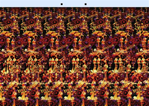 with picture stereograms hollusions