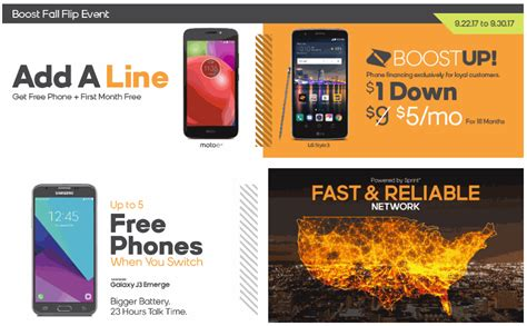 get it mobile get a free moto e4 and free month of service from boost