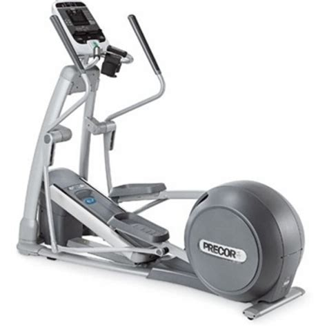 recumbent elliptical trainer calories burned precor efx 556i experience elliptical cross trainer