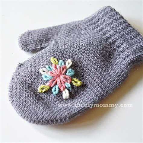 Baby Mittens 1 embroidered baby mittens make embroidered baby mittens for
