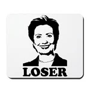 Hillary clinton loser mousepad by hrcloser
