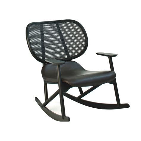 rocking armchair with back in moroso klara design
