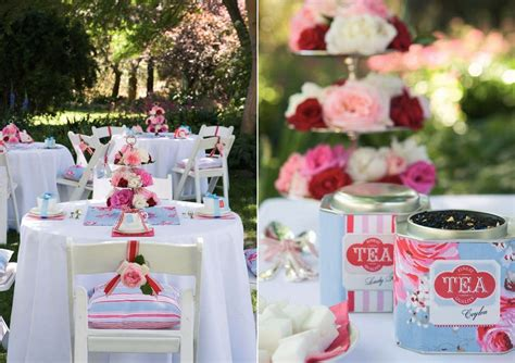 Tea Bridal Shower Ideas by Marne S Blue And Brown Bridal Shower I 39m