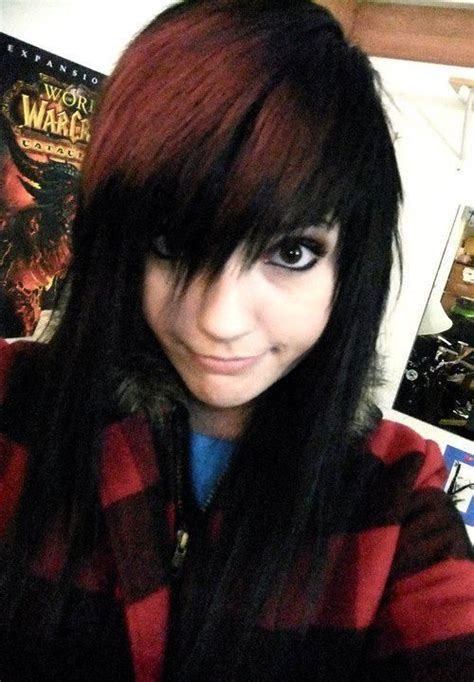 emo hairstyles from all angles 17 best images about emo scene hairstyles on pinterest