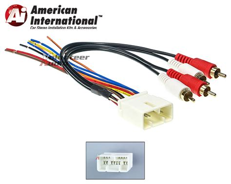 toyota car stereo cd player wiring harness wire