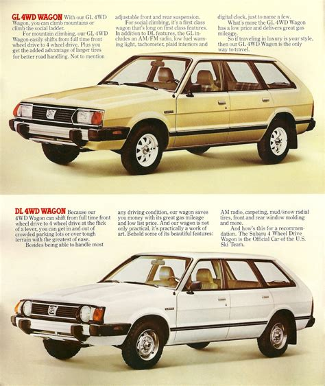 subaru station wagon 1980 1980 subaru 1800 information and photos momentcar