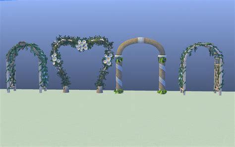 Wedding Arch On Sims 3 by Mod The Sims All Sims 3 Wedding Arches Set