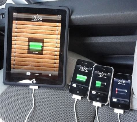 Multi Port Usb Car Charger by Multi Port Usb Car Charger For Iphone Ipod Touch