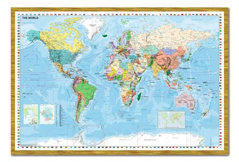 framed us map with pins world map with flags pinboard large framed cork board