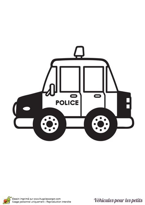 Coloriage D Un V 233 Hicule Pour Les Petits Voiture De Police