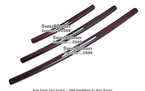 Pedang Katana Sirasaya Kanji shirasaya samurai katana sword set kendo w inscription