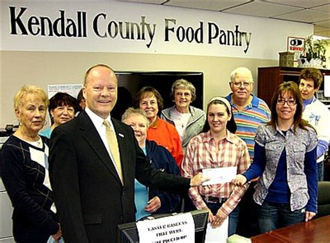 Kendall County Food Pantry by Come Celebrate With Us