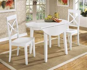 white drop leaf dining table silo tree farm