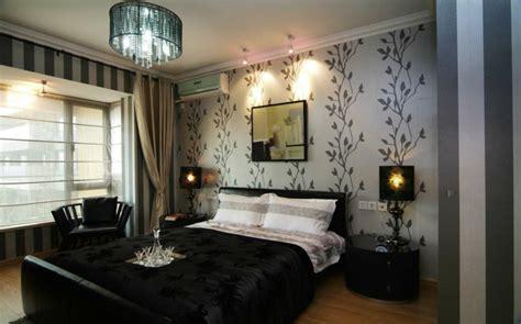 chambre a coucher avec papier peint le papier peint design 50 belles id 233 es archzine fr