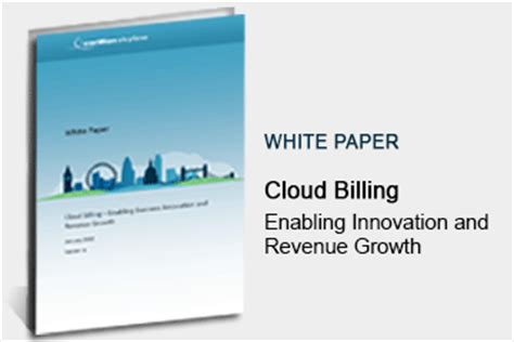 cloud billing enabling innovation and revenue growth