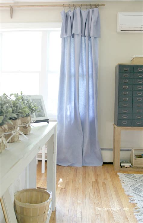 drapery diy diy no sew drop cloth curtains and a cheap curtain rod