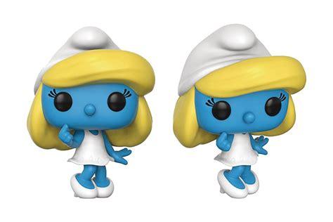 Funko Pop Original The Smurfs Astro Smurf may178737 pop smurfs smurfette vinyl figure previews world
