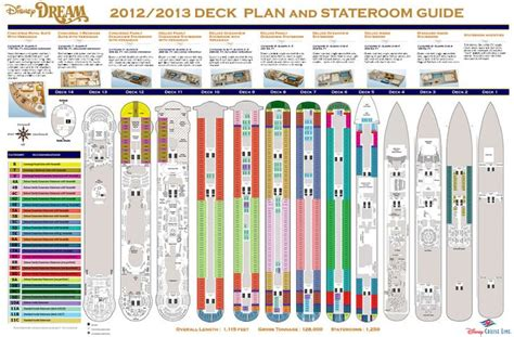Disney Dream Floor Plan Pin By Sheree Garman On Disney Dream Cruise Pinterest